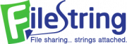 secure file sharing service FileString logo